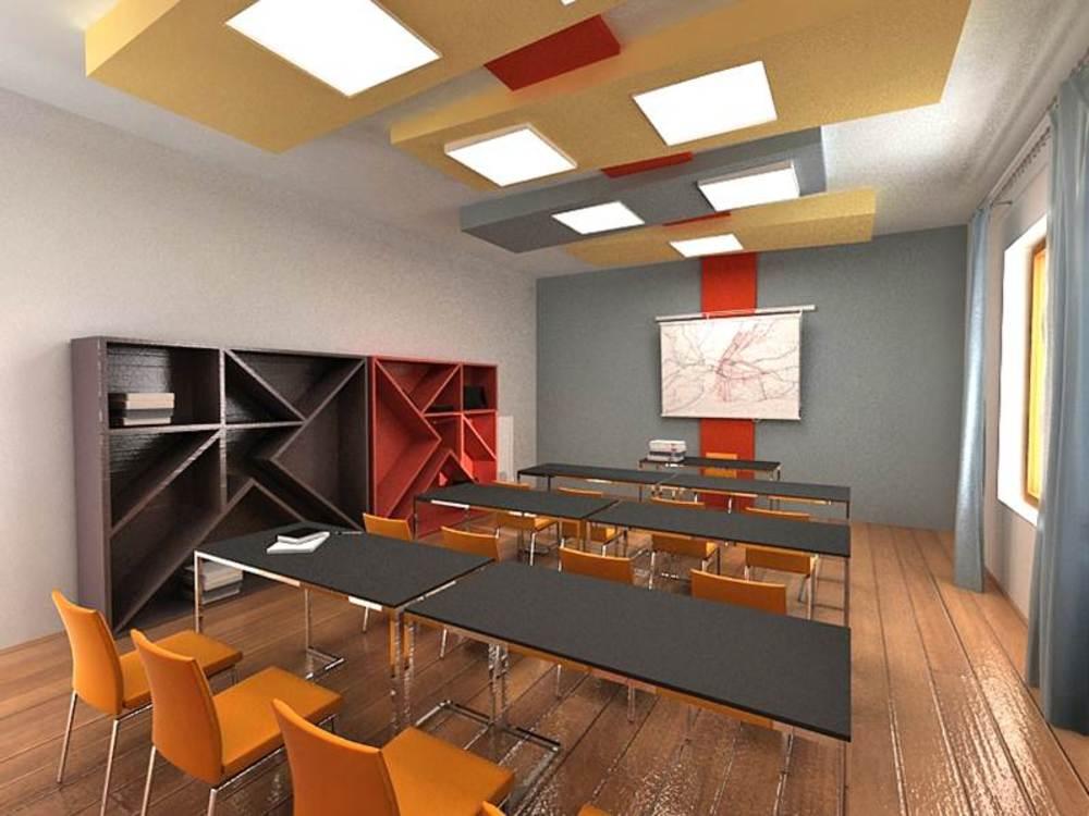 Проект интерьера школ